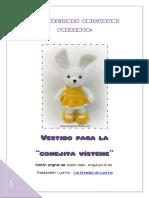 CONEJITO VISTEME - VESTIDO DE CHICA