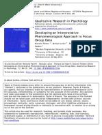 Developing an Interpretative Phenomenological Approach to Focus Group Data.pdf