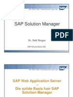SAP Web Application Server