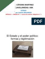 MALAMUD, Andrés -  Estado