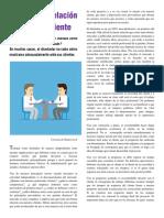 Artículo, Una buena relación diseñador - cliente