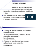 Interpretacion  de  la  Norma Juridica.