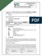 2.1 PR-DTH-021 V.6  Procedimiento Gestion de Talento Humano (1)