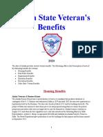 Vet State Benefits - AK 2020