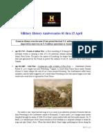 Military History Anniversaries 0401 Thru 041519