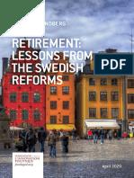 Etude Lundberg Kristoffer Fondapol Retraites Suede VA 2020-01-04