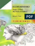 Ecofeminismo Para Otro Mundo Posible, Alicia Puleo