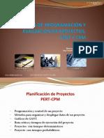 TECNICAS DE PROGRAMACION Y EVALUACION DE PROYECTOS, PERT Y CPM - FRANKLIN SANDOVAL - PROYECTOS.pdf