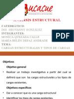 Cargas estructurales y tipos de cargas