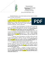 PRONUNCIAMENTO DA PREFEITA 31 03 2020