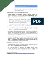 Recomendaciones y observaciones para la presentación de denuncias de violaciones de derechos humanos ante la ONU