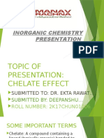 chelate effect [Recovered]