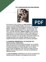 GOLPE de ESTADO de 1943
