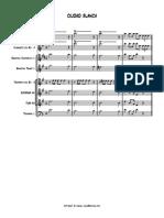 CIUDAD BLANCA - score and parts