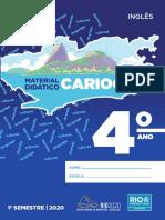 carioca 2020 ingles 4 ano 1 sem