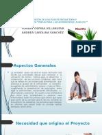Proyecto Crema Aloelife Modelo Gerencia