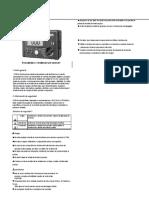 Manual de operación insulate resistance tester UT501A.