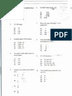 Maths Cxc Multiple Choice0001