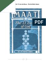 MAAT – As 11 Leis de Deus – Ra Un Nefer Amen.pdf