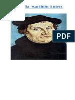 Biografia  Martinho Lutero