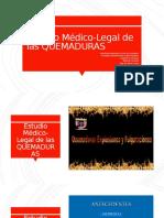 Estudio Médico-Legal de las QUEMADURAS.pptx