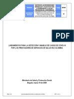 GIPS05 lineamientos para la deteccion y manejo de pacientes con covid 19