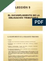 Incumplimiento de la obligación tributaria paraguaya