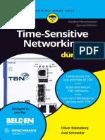Time Sensitive Networking For Dummies Belden Hirschmann Special Edition