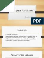 Bosques Urbanos presentación