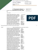"""VATICANO - A """"Redemptoris Missio""""_ o testamento missionário de João Paulo II - Agenzia Fides.pdf"""