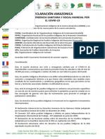 DECLARACIÓN AMAZONICA COICA.31.03.2020 (1)