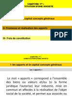 Cours Comptabilité Des Sociétés Chapitre 1 Mr Mazzine (S4)