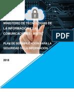 Plan de Sensibilizacion Seguridad de la Informacion