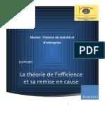 10-Rapport sur l'efficience-des-marchés