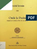 (Credința ortodoxă) Ieronim - Omilii la Psalmi. Psalmii 10, 15, 82-84, 87-93, 95, 96, 146-149-Editura Institutului Biblic și de Misiune Ortodoxă (2017).pdf