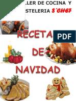 RECETARIO DE NAVIDAD 2018