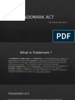 TRADEMARK ACT
