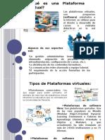 plataforma virtual diapositivas