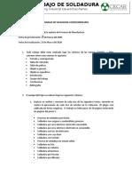 TRABAJO DE SOLDADURA COMPLEMENTARIO