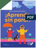 CUADERNILLO REFUERZO EN VACACIONES MINEDUC