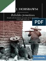 Rebeldes primitivos - Eric Hobsbawm.pdf