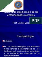 Sistema de clasificación de las enfermedades mentales2