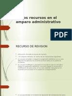 De los recursos en el amparo administrativo