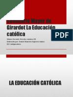 La educación católica