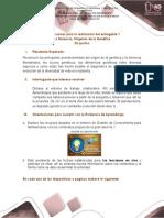 Entregable No. 1 La Herencia, Orígenes de la Genética.docx