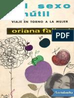 El sexo inutil - Oriana Fallaci.pdf