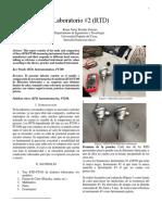 Informe #2 RTDPT100