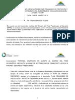 PLAN DE CONTENGENCIA EDUCACIÓN BASICA COVID-19