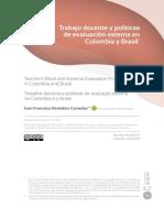 12-Remolina Caviedes, Juan Francisco. Trabajo docente y políticas de evaluación externa en Colombia y Brasil-183-202