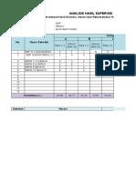 Analisis Hasil Supervisi per Pengawas dan Gabungan1 HENNY MUBA